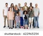 diversity of people generations ...   Shutterstock . vector #622965254