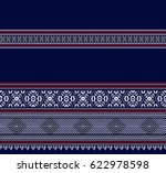 seamless colorful aztec pattern | Shutterstock .eps vector #622978598