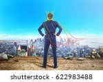 the concept of narcissism. a... | Shutterstock . vector #622983488