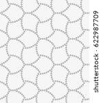 vector seamless pattern.... | Shutterstock .eps vector #622987709