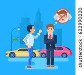 vector illustration of two men...   Shutterstock .eps vector #622990220