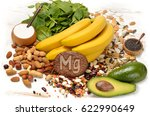 foods containing magnesium.... | Shutterstock . vector #622990649