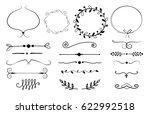 Set Of Decorative Elements....