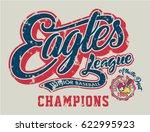 eagles junior baseball  vector... | Shutterstock .eps vector #622995923