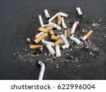 Cigarette Butt A Street Left B...