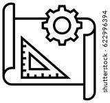 user testing vector icon | Shutterstock .eps vector #622996394