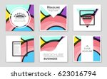 abstract vector layout... | Shutterstock .eps vector #623016794
