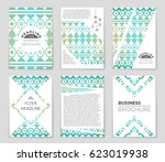 abstract vector layout... | Shutterstock .eps vector #623019938