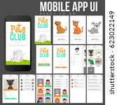 pets club mobile app ui  ux and ...