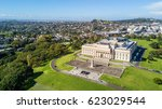 aerial view on auckland domain... | Shutterstock . vector #623029544