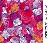 seamless pattern background... | Shutterstock .eps vector #623030669