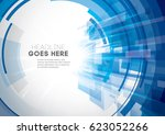 vector of modern abstract... | Shutterstock .eps vector #623052266
