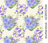 seamless floral background for... | Shutterstock .eps vector #623052566