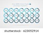0 5 10 15 20 25 30 35 40 45 50... | Shutterstock .eps vector #623052914