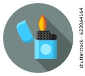 lighter icon | Shutterstock .eps vector #623064164