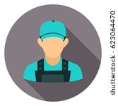 worker icon | Shutterstock .eps vector #623064470