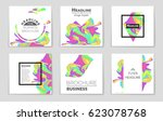 abstract vector layout...   Shutterstock .eps vector #623078768