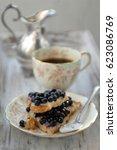 charming vintage still life... | Shutterstock . vector #623086769