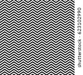 zigzag lines. jagged stripes.... | Shutterstock .eps vector #623102990