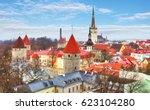 Tallinn City Old Town Panorama...