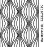 vector seamless pattern. modern ... | Shutterstock .eps vector #623105750