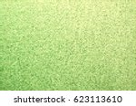 vector green dotted gradient... | Shutterstock .eps vector #623113610