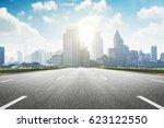 the century avenue of the scene ... | Shutterstock . vector #623122550