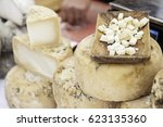 Artisan Cheese In A Market ...