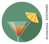 cocktail icon | Shutterstock .eps vector #623154083
