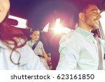 family  transport  safety  road ... | Shutterstock . vector #623161850