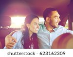 transport  road trip  travel ... | Shutterstock . vector #623162309