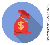 money icon   Shutterstock .eps vector #623174618
