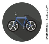 bicycle icon | Shutterstock .eps vector #623176694