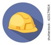 helmet icon | Shutterstock .eps vector #623179814
