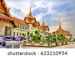 chakri maha prasat hall at the... | Shutterstock . vector #623210954