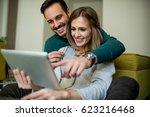 relaxing time | Shutterstock . vector #623216468
