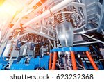 automated production line in... | Shutterstock . vector #623232368