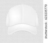 white cap  | Shutterstock . vector #623235770