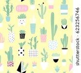 cute summer theme cactuses....