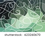 abstract geometric mosaic... | Shutterstock .eps vector #623260670