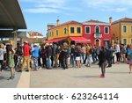 Burano  Italy   April 7  2017 ...