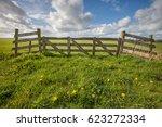dutch spring landscape | Shutterstock . vector #623272334