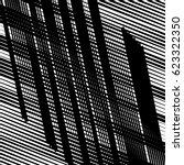 random intersecting lines... | Shutterstock .eps vector #623322350