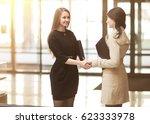 handshake of the company...