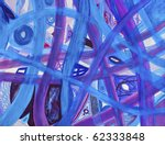 Abstract Blue  Purple  Red...