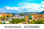 Panorama View Of Prague Skyline ...