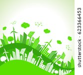 save nature concept with...