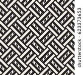 vector seamless pattern. modern ... | Shutterstock .eps vector #623373653