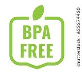 bpa free badge  logo  icon....   Shutterstock .eps vector #623374430