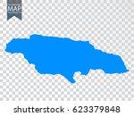 transparent   high detailed map ... | Shutterstock .eps vector #623379848